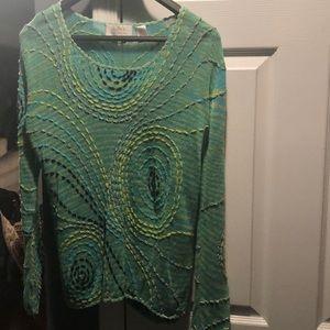 Beautiful Dana Buchman Long Sleeve Sweater
